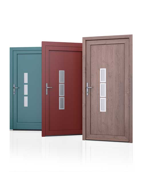 strakke voordeur slank