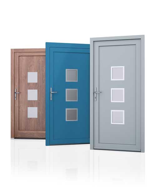 3x kubus voordeur