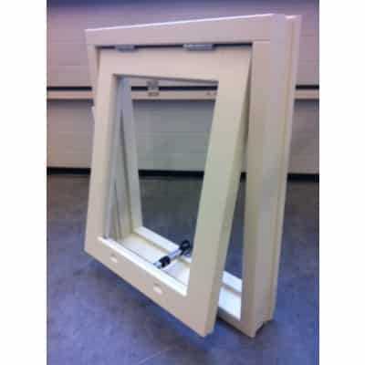 houten raam scharnier bovenzijde