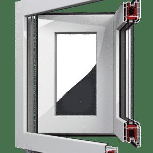 Aluplast Ideal Schuifsysteem | Harmonicadeur glas